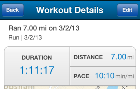 10:10 is a good pace for me. Slow and steady...